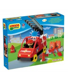 Lego UNICO station de pompié 20 psc