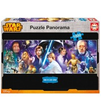 EDUCA - Puzzle 1000 Star wars panorama 16299
