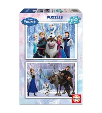 EDUCA - Puzzle 2* 100pcs Frozen 15767