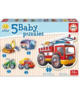 EDUCA - Puzzle Baby véhicules 14866
