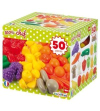 ECOIFFIER - Pack Fruits & Légumes 50pcs 2655