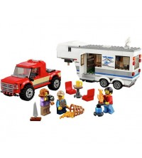 LEGO - Le pick-up et sa caravane 60182