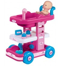 FAROTOYS - PRINCESS NURSERY TROLLEY - DOLL NOT INCLUDED REF 6900