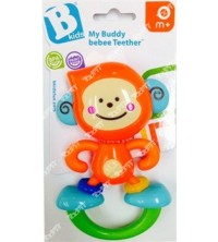 BLUE BOX - RATTLE &TEETHER BEBEE MONKEY