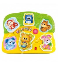WINFUN - TABLE D'ACTIVITE POUR BEBE MUSICAL