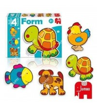 DISET - Puzzle FORM BABY TORTUE