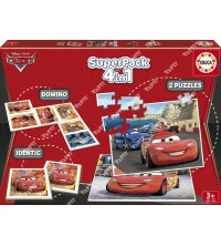 EDUCA - Superpack 4en1 Cars 14927