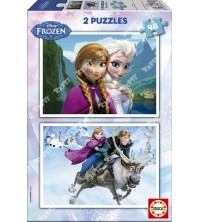 EDUCA - Puzzle 2*48 Frozen 15768