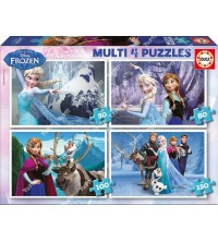 EDUCA - Multi-puzzle Frozen 16173