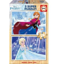 EDUCA - Puzzle 2*25 Frozen 16801