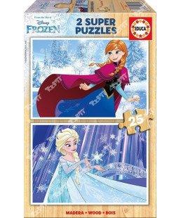 EDUCA - Puzzle 2*25 Frozen 16801