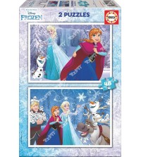 EDUCA - Puzzle 2*48 Frozen 16852