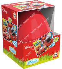 EDUCA - Puzzle Oeuf 48pcs cars 17184