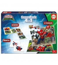 EDUCA - Superpack 4en1 Spiderman 17197