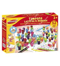 JOUSTRA - Tampons Lettres & Animaux 41577