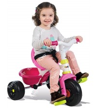 SMOBY - Tricycle Be Fun rose 740322