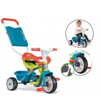 SMOBY - Tricycle Be Move Confort bleu 740401
