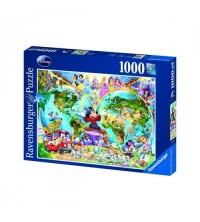 RAVENSBURGER - PUZZLE 1000 WORLD DISNEY 15785