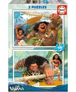 EDUCA - Puzzle  2*48 Vaiana 16952