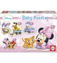EDUCA - Puzzle bébé minnie 15612