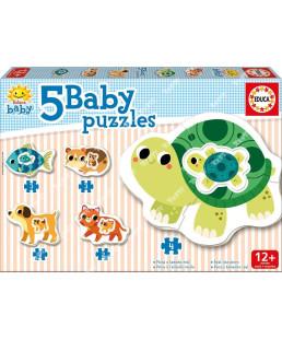 EDUCA - Baby puzzles 'Animaux' 17573