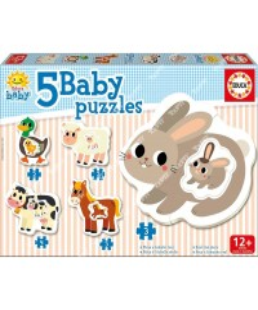 EDUCA - Baby puzzles 'La Ferme' 17574
