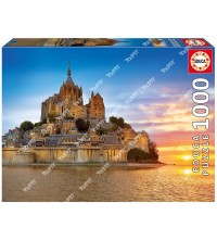 EDUCA - Puzzle 1000pcs Mont Saint-Michel 17665