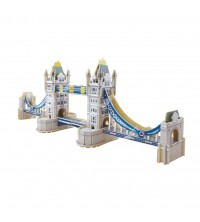 EDUCA - Puzzle bois 92pcs 3D Tower Bridge 16999