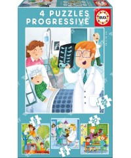EDUCA - Puzzles prog 'Quand je serai grand' 17146