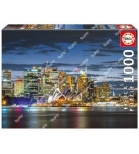 EDUCA - Puzzle 1000pcs Sydney City Twilight 17106
