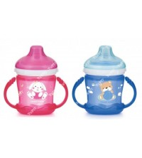 CANPOL - Tasse d'apprentissage sweets fun à anses bec silicone REF 57/300