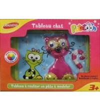 JOUSTRA - TABLEAU PATE A SEL CHAT 42082