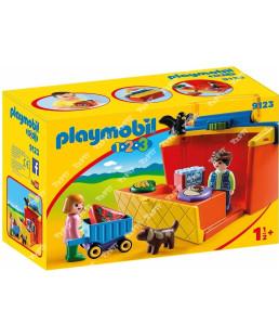 PLAYMOBIL - ETAL DE MARCHE TRANSPO