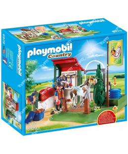 PLAYMOBIL - BOX DE LAVAGE POUR CHE