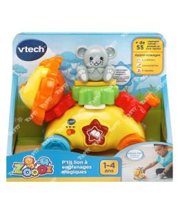 VTECH - Zooz - P'tit lion Ó engrenages magiques