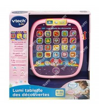 VTECH - Lumi tablette des dÚcouvertes rose
