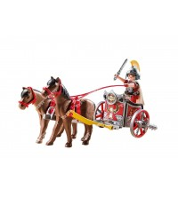 PLAYMOBIL  - CHAR ROMAIN AVEC TRIBUNE PL5391