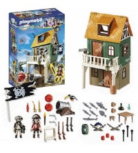 PLAYMOBIL  - FORT DES PIRATES CAMOUFLE AVEC RUBY PL4796