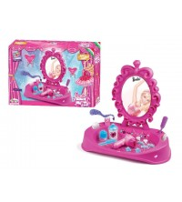 FAROTOYS BARBIE VANITY TABLE PINK MELODY SHOES REF 6820