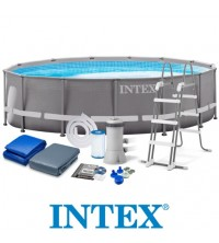 INTEX - PISCINE TUBULAIRE OVALE 4.27*1.07