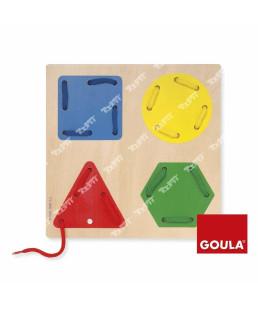 GOULA - Laçage Formes Géometriques