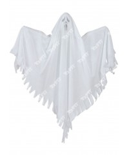 TOOPTY - Fantome Fluorescent Blanc 30 cm