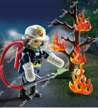 Playmobil - Firefighter with Tree