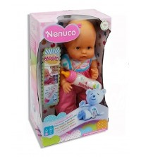 NUNECO - POUPEE NENUCO AVEC BIBERON MAGIC 12691