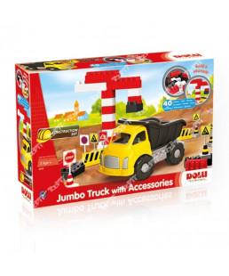 DOLU - jumbo truck avec lego 40 Pcs