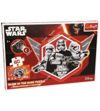 "TREFL - Puzzle - ""60 Glow in the Dark"" - Captain Phasma and stormtroopers / Lucasfilm Star Wars Episode VII 14617"