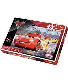 "TREFL - Puzzles - ""24 Maxi - Champ"" / Disney Cars 3 14250"
