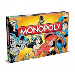 WINNING MOVES - MONOPOLY DC COMICS WM0971