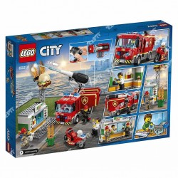 LEGO - L'INTERVENTION DES POMPIERS 60214