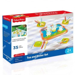 FISHER PRICE - ENSEMBLE DE SERVICE A THÉ ET DÎNÉ